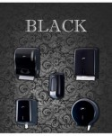 Dispensere rola hartie - Dispenser prosop hartie rola MAXI - Elegance Black - arli.ro