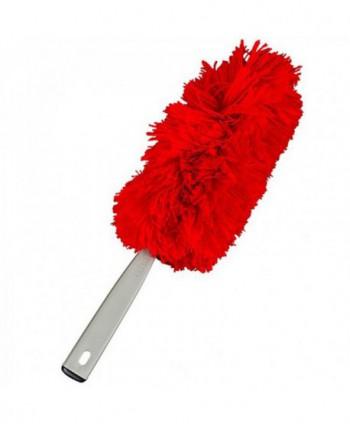 Materiale de curatenie - Perie de praf din microfibra - Rosie - arli.ro
