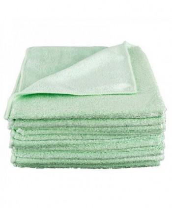 Lavete profesionale - Laveta microfibra verde, 40cm x 40cm - pachet 5 bucati - arli.ro