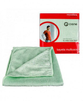 Lavete profesionale - Laveta microfibra PREMIUM , ambalata individual - Verde - arli.ro