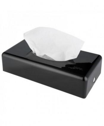 Dispensere pentru servetele - Dispenser din plastic ABS negru pentru servetele faciale - Jofel - arli.ro