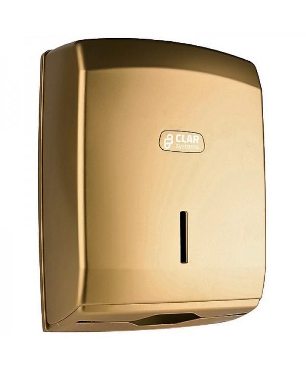 Dispensere prosoape din hartie - - Dispenser prosoape hartie Z, gold - I-NOVA - arli.ro