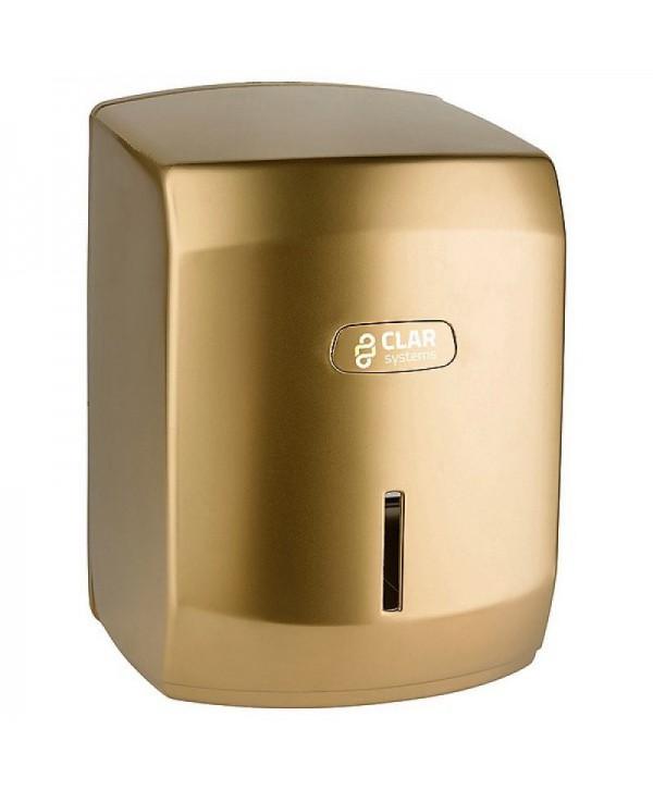 Dispensere rola hartie - - Dispenser prosop hartie rola MAXI, gold - I-NOVA - arli.ro
