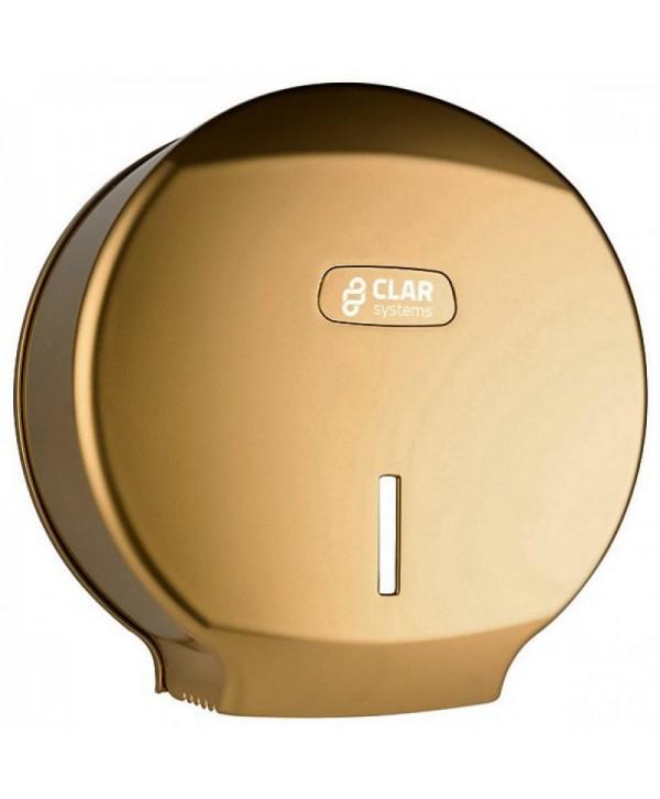 Dispensere hartie igienica - - Dispenser hartie igienica Jumbo, gold - I-NOVA - arli.ro