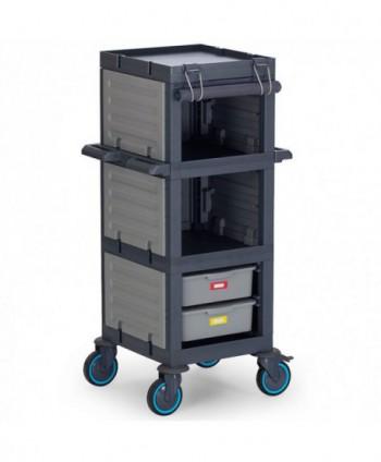 Carucioare room service si zona food - Carucior alimentare minibar - Procart 213 - arli.ro