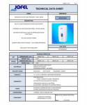 Dozatoare de sapun din ABS - Dozator de dezinfectant, negru, cu senzor, Jofel - 1000 ml - arli.ro