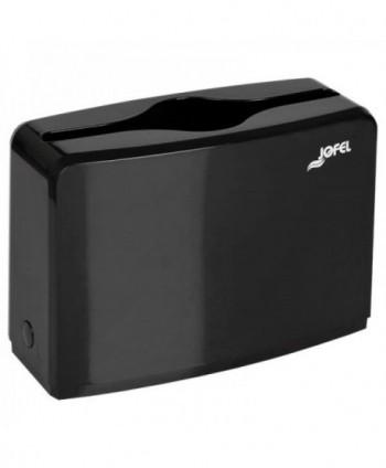 Dispensere prosoape din hartie - Dispenser mobil prosoape hartie Z - Elegance Black - arli.ro