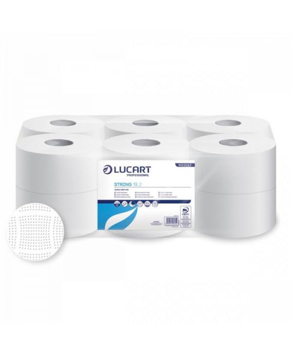 Dispensere hartie igienica - - Hartie igienica Jumbo, extra alba , OPTIMUM - pachet 12 role - arli.ro