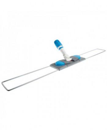 Mopuri profesionale - Suport metalic pentru mopuri cu buzunare, albastru - 80 cm - arli.ro