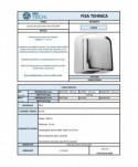 Uscatoare de maini lente - Uscator de maini, inox - ArliTech® Eco Dry - arli.ro