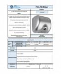 Uscatoare de maini rapide - Uscator de maini, cromat - ArliTech® Ultra Dry - arli.ro