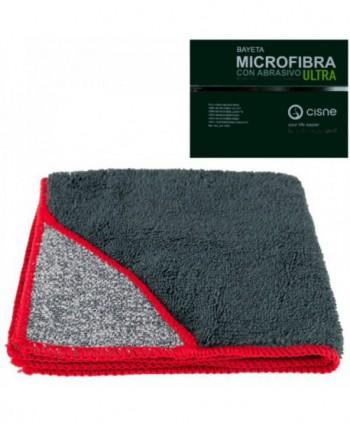 Lavete profesionale - Laveta microfibra cu buzunar abraziv, gri -  ULTRA - arli.ro