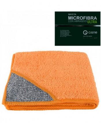 Lavete profesionale - Laveta microfibra cu buzunar abraziv, portocalie -  ULTRA - arli.ro