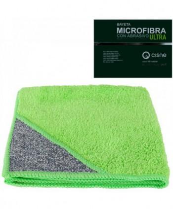 Lavete profesionale - Laveta microfibra cu buzunar abraziv, verde -  ULTRA - arli.ro