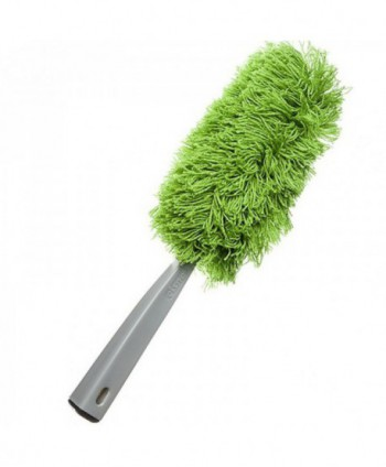 Materiale de curatenie - Perie de praf din microfibra - Verde - arli.ro
