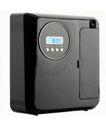 Uleiuri esentiale pentru30 - 5000mp - Dispenser odorizant profesional, aparat difuzor de arome prin nebulizare cu ulei esential, negru - UltraScent 100 D - arli.ro