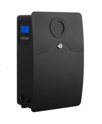 Uleiuri esentiale pentru30 - 5000mp - Dispenser odorizant profesional, aparat difuzor de arome prin nebulizare cu ulei esential, negru - UltraScent 200 S - arli.ro