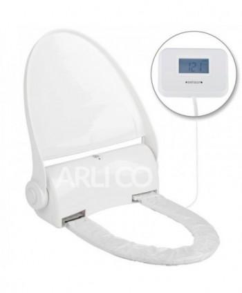 Capace WC cu folie igienica - Colac WC automat cu senzor si display - cu folie 135 utilizari - arli.ro