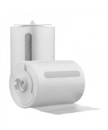 Capace WC cu folie igienica - Rola folie pentru colacul WC automat cu senzor si display - 135 utilizari - arli.ro