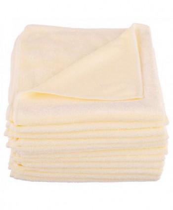 Lavete profesionale - Laveta microfibra galbena, 40cm x 40cm - pachet 5 bucati - arli.ro