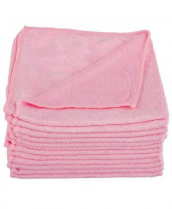Lavete profesionale - Laveta microfibra roz, 40cm x 40cm - pachet 5 bucati - arli.ro