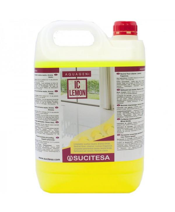 Detergenti si solutii de curatat - - Detergent pardoseli - Aquagen IC Lemon - arli.ro