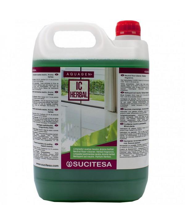 Detergenti si solutii de curatat - - Detergent pardoseli - Aquagen IC Herbal - arli.ro