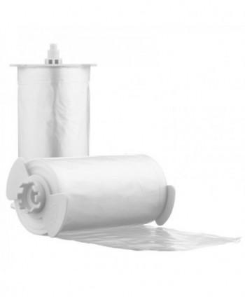 Capace WC cu folie igienica - Rola folie pentru colacul WC automat cu buton - 60 utilizari - arli.ro