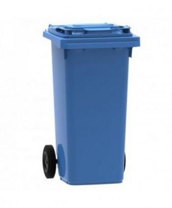 Cosuri gunoi stradale - Pubela de gunoi, ALBASTRA - 120 litri - arli.ro