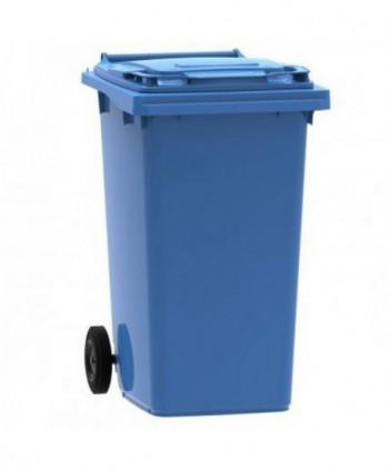 Cosuri gunoi stradale - Pubela de gunoi, ALBASTRA - 240 litri - arli.ro