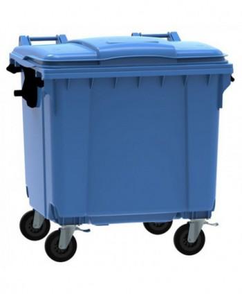 Cosuri gunoi stradale - Container de gunoi, ALBASTRU - 1100 litri - arli.ro