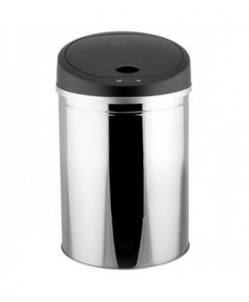 Cosuri gunoi inox - Cos de gunoi din INOX, cu senzor-30 litri - arli.ro