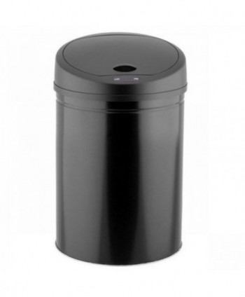 Cosuri gunoi inox - Cos de gunoi din metal, cu senzor-30 litri - arli.ro