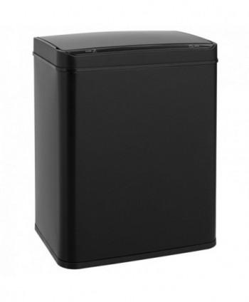 Cosuri gunoi inox - Cos de gunoi rectangular din metal, cu senzor-50 litri - arli.ro