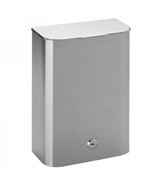 Cosuri si perii WC - - Cos de gunoi din inox, fixare pe perete - 5 litri - arli.ro