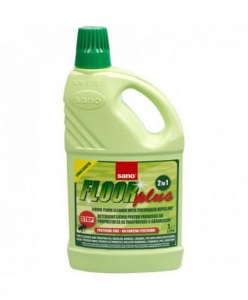 Detergenti si solutii de curatat - Detergent pardoseli - Sano Floor Plus 1L - arli.ro