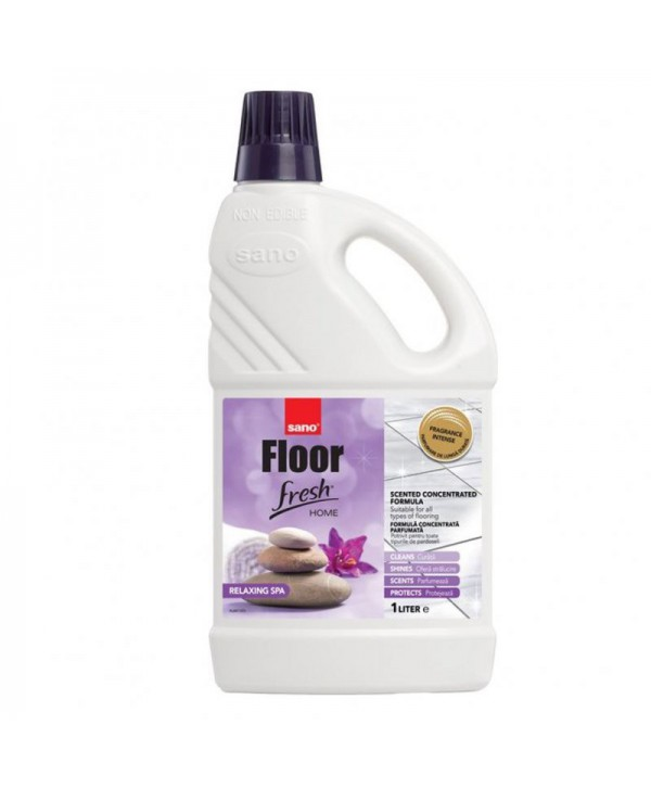 Detergenti si solutii de curatat - - Detergent pardoseli - Sano Floor Fresh Relaxing Spa 1L - arli.ro