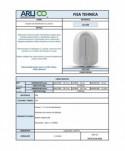 Dozatoare de sapun din ABS - Dozator de dezinfectant (gel, lichid) cu senzor, ArliTech® - 1100 ml - arli.ro