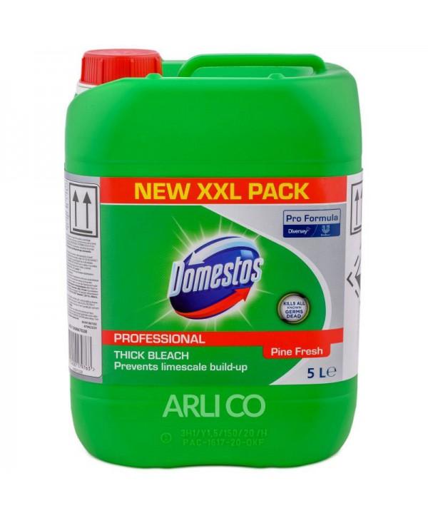 Detergenti si solutii de curatat - - Dezinfectant clorigen - Domestos Professional Pine  Fresh 5 L - arli.ro