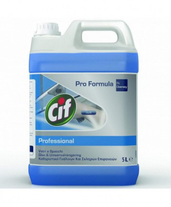 Detergenti si solutii de curatat - Detergent geamuri si suprafete - Cif Professional 5L - arli.ro