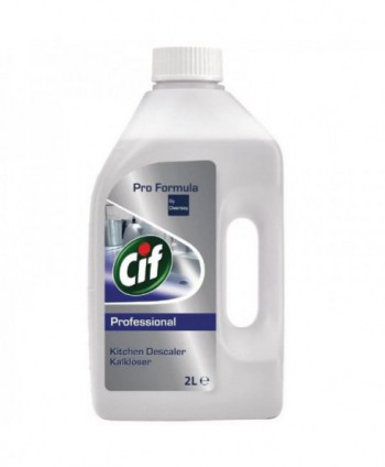 Detergenti si solutii de curatat - Detartrant bucatarii profesionale - Cif Professional 2 L - arli.ro