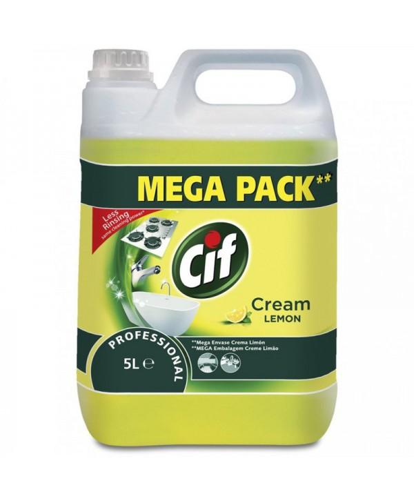 Detergenti si solutii de curatat - - Crema de curatat - Cif Professional Cream Lemon - arli.ro
