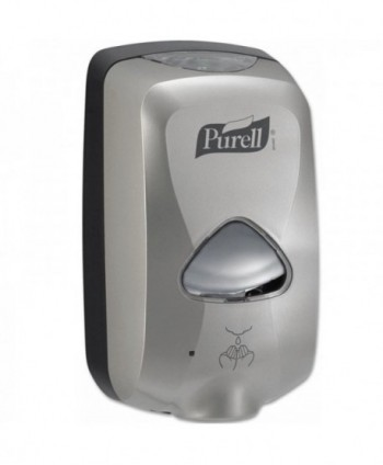 Dozatoare de dezinfectant - Dozator cu senzor pentru gel dezinfectant de maini, cromat - Purell TFX 1200 ml - arli.ro