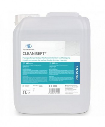 Dezinfectanti pentru suprafete - Dezinfectant medical concentrat de nivel inalt pentru suprafete - Cleanisept - 5 litri - arli.ro