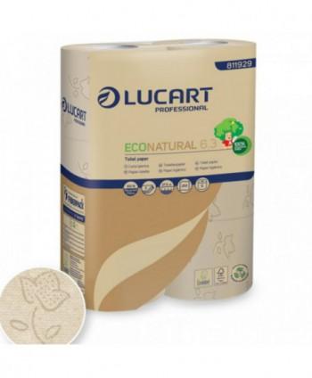 Dispensere hartie igienica - Hartie igienica EcoNatural - pachet 6 role - arli.ro