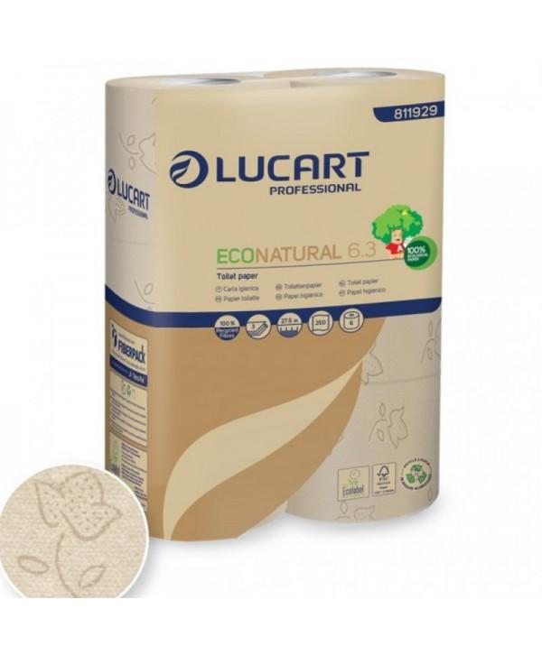 Dispensere hartie igienica - - Hartie igienica EcoNatural - pachet 6 role - arli.ro