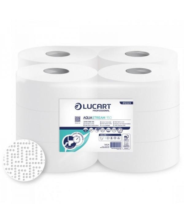 Dispensere hartie igienica - - Hartie igienica Jumbo Aquastream - pachet 12 role - arli.ro