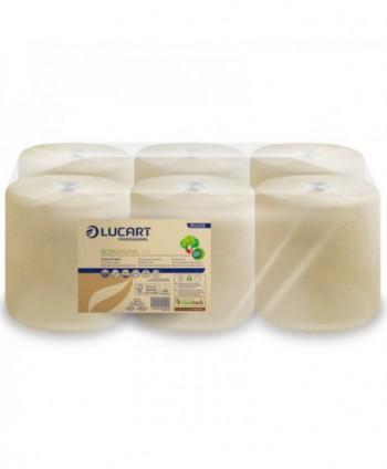 Consumabile din hartie - Prosop de hartie EcoNatural, reciclat 135 metri - pachet 6 role - arli.ro