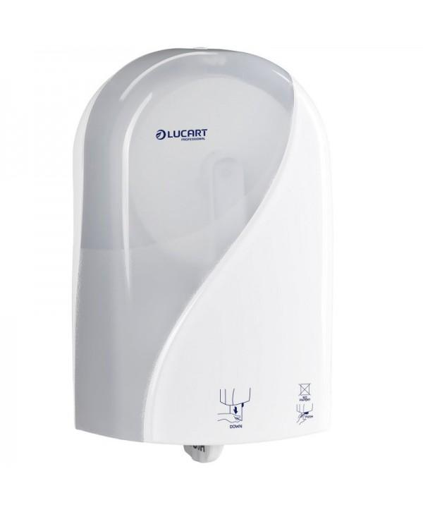 Dispensere hartie igienica - - Dispenser hartie igienica Jumbo, alb - Identity Autocut - arli.ro