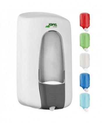 Dozatoare de sapun din ABS - Dozator de sapun cu auto sterilizare Jofel Antibac, sistem MIX - 1000 ml - arli.ro